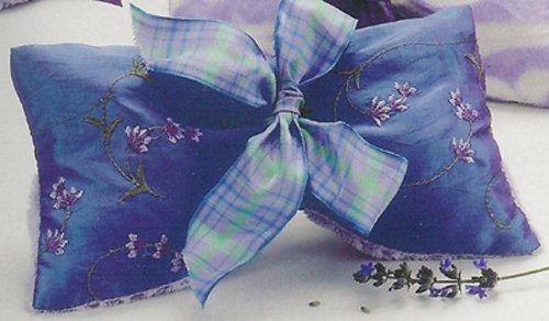 - Sonoma Lavender Eye Mask - Embroidered Lavender