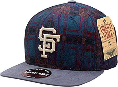 San Francisco Giants Hat Flat Bill Adjustable Strap Freshly Baked