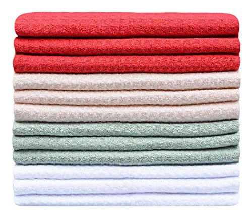 Sinland-Microfiber-Waffle-Weave-Dish-Cloths-Household-Kitchen-Cleaning-Cloth-Wiping-Cloth-13Inchx13Inch