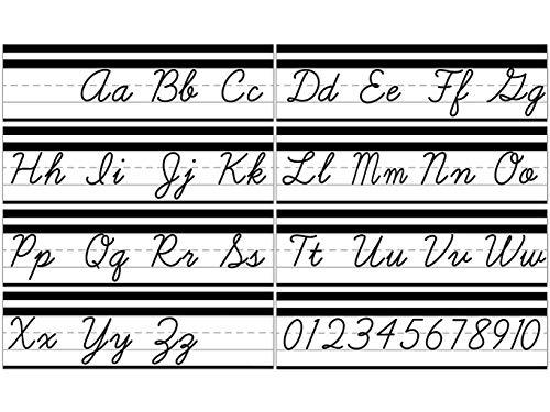 Simply Stylish Alphabet Line: Cursive Mini Bulletin Board Set ()