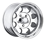 Pacer LT 16x10 Polished Wheel / Rim 8x6.5 with a -32mm Offset and a 130.00 Hub Bore. Partnumber 164P-6181