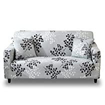 HOTNIU 1 Pieza Funda Elástica de Sofá Funda Estampada para sofá Antideslizante Protector Cubierta de Muebles