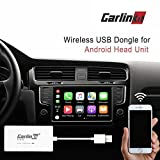 Carlinkit Wireless USB dongle carplay Adapter with Android auto Apple carplay Navigation mirroring for Android Head Unit
