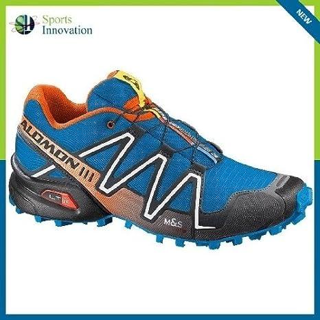 Salomon Speedcross 3 - Zapatillas de Running para Hombre, Color Azul Brillante: Amazon.es: Deportes y aire libre