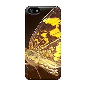 Top Quality Rugged Butterfly Macro Photos Case Cover For Iphone 5/5s