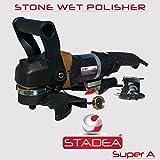 Stadea SWP102K Stone Polisher Granite Polishing Kit - Wet Variable Speed Grinder Granite Wet Polishing