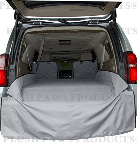 plush-paws-waterproof-cargo-liner-bumper-flap-machine-washable-durable-xl-grey