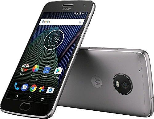 Motorola Moto G5 XT1676 Gray, Dual Sim, 5 inch, 16GB, GSM Unlocked International Version, No Warranty