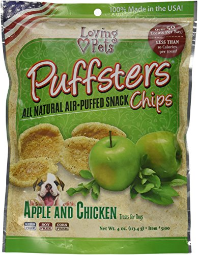 Loving Pets Puffsters Apple Chicken product image