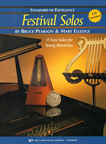 W37HF - Standard of Excellence - Festival Solos Book/CD Book 2 - French Horn (Solos Horn Book)