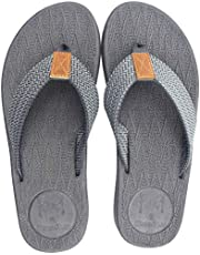 KUAILU Mens Flip Flops Thong Sandals Yoga Foam Slippers
