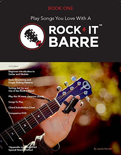 Rock-iT Barre Book One, Basic Guitar & Rock-iT Barre Use, W/ Companion DVD (No Device Included)