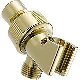 Delta Faucet U3401-PB-PK Universal Showering Components Adjustable Shower Arm Mount, Polished Brass
