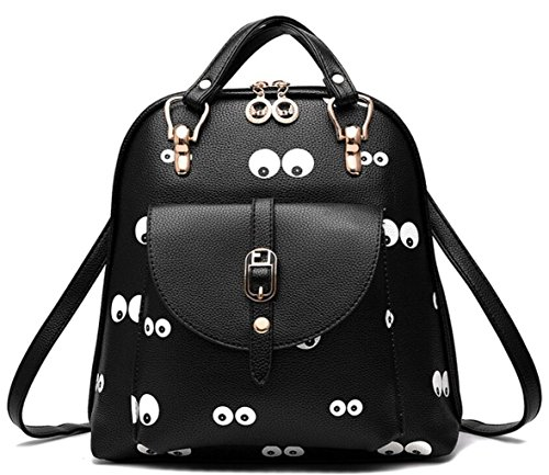 PU Shoulder Summer Leather Women's Cute Bag Bag Student Yelesley type7 Backpack 8qxSt5w