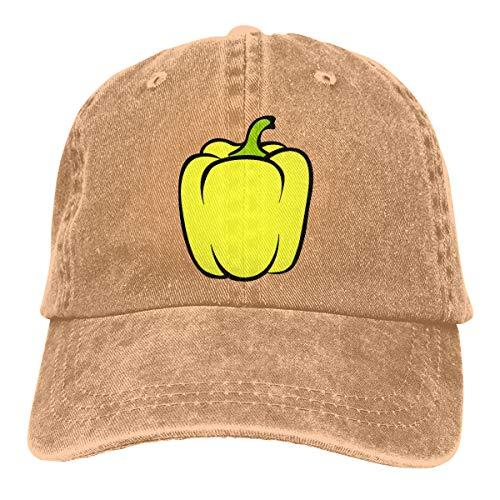 (Men's Women's Adjustable Baseball Cap Red Green Chili Pepper Sports Hat)