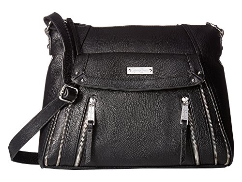 Jessica Simpson Women's Zuri Large Crossbody Black Crossbody Bag