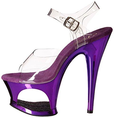 Talla Pleaser Sandalias Color Púrpura 40 Mujer wAIAPrq