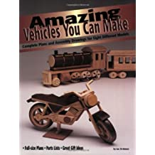 Amazing Vehicles You Can Make: Complete Plans and Assembly Drawings for Eight Different Models (Vehicles you can make series) by Luc St Amour (2001-10-01)