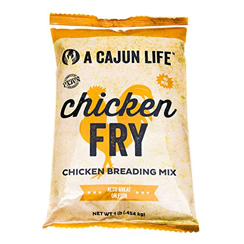 Country Vegetable Chicken (A Cajun Life Chicken Fry | Seasoned Chicken Breading Mix | Authentic and Certified Cajun Chicken Breading, Non-GMO, No MSG, Great On All Types of Meat.)