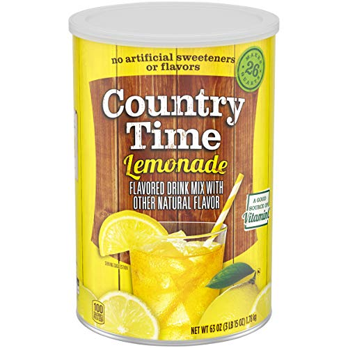 Country Time Jumbo Lemonade Drink Mix, 63 Oz