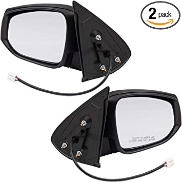 BROCK Drivers Power Side View Mirror Heated Left Replacement for 16-18 Toyota Tacoma Pickup Truck 8794004230