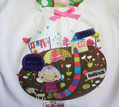 camiseta Ajiduo as para de blanca ni manga larga 1OfOqPdC