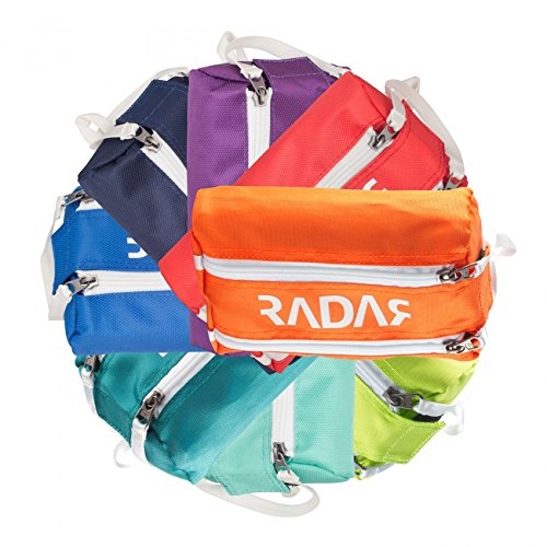 (Radar Wheelie Bag - New for 2017 - Quad Wheel Bags are Now Available in 8 Vibrant Colors! - Lime)