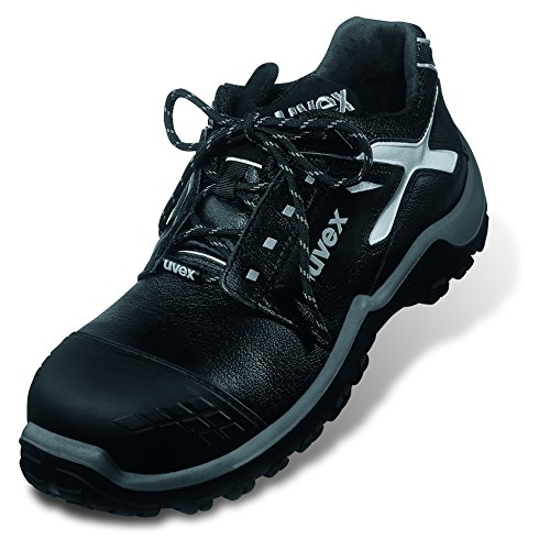 Uvex - Calzado de protección para hombre Negro - negro