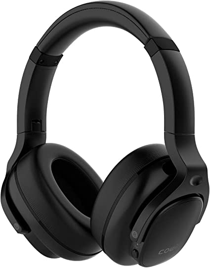 Amazon.com: COWIN E9 Active Noise Cancelling Headphones Bluetooth Headphones Wireless Headphones Over Ear with Microphone, Comfortable Protein Earpads, 30 Hours Playtime for Travel/Work, Black: Home Audio & Theater