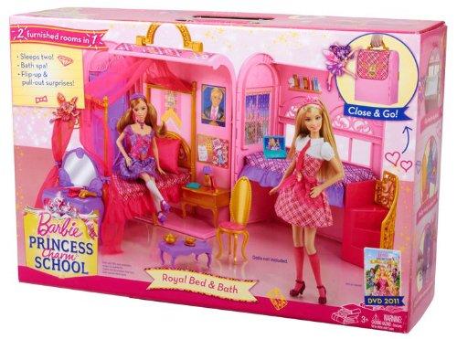 barbie princess charm school princess playset buy online