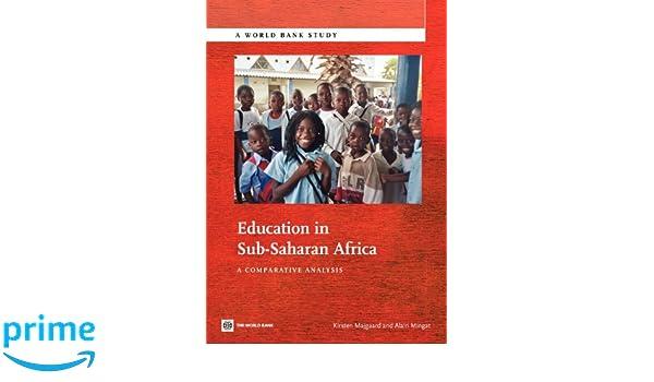 education in sub saharan africa mingat alain majgaard kirsten