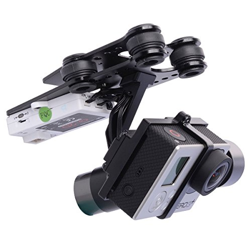 Price comparison product image Walkera G-2D 3 Axis Brushless Gimbal for iLook / GoPro Hero 3 3+ / QR X350 Pro OS117