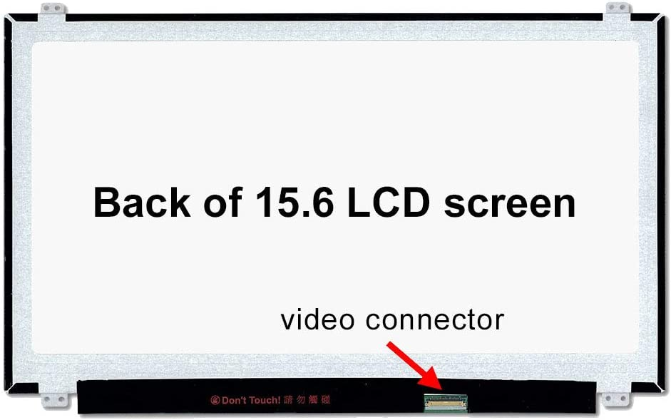 Matte SCREENARAMA New Screen Replacement for LP156WF4 U1 LCD LED Display with Tools FHD 1920x1080 SP IPS