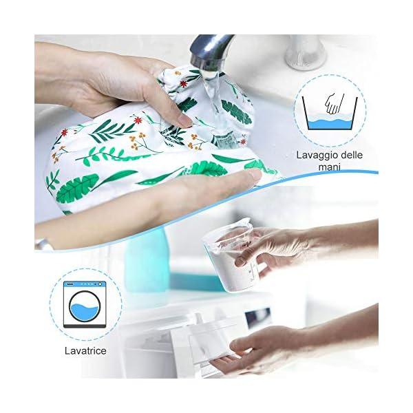 Lictin 4 Pezzi Mutandine di Apprendimento - 2 Pezzi Pannolini riutilizzabili con Pantaloni da Allenamento vasino a 7… 6