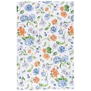 Now Designs Tea Towel, English Garden Print