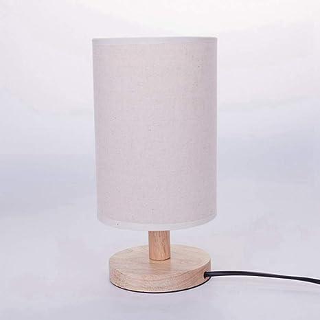 Table E27 Minimaliste De De Moderne Bois Linge Lampe Chevet 3lK1uTJFc