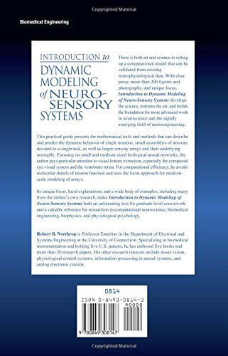 Introduction to Dynamic Modeling of Neuro-Sensory Systems (Biomedical Engineering)