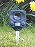 Set of 2 PestBye Ultrasonic Battery Operated Motion Activated Cat Repellent Bild 3