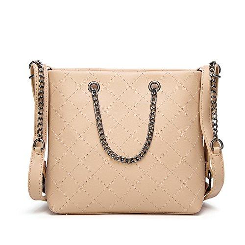 304e9ab8220a5 Capacità Olio Elegante Impermeabile Ad Portatile Fashion Con A Borsa  Tracolla Pelle Alta Beige Purse Dasexy ...