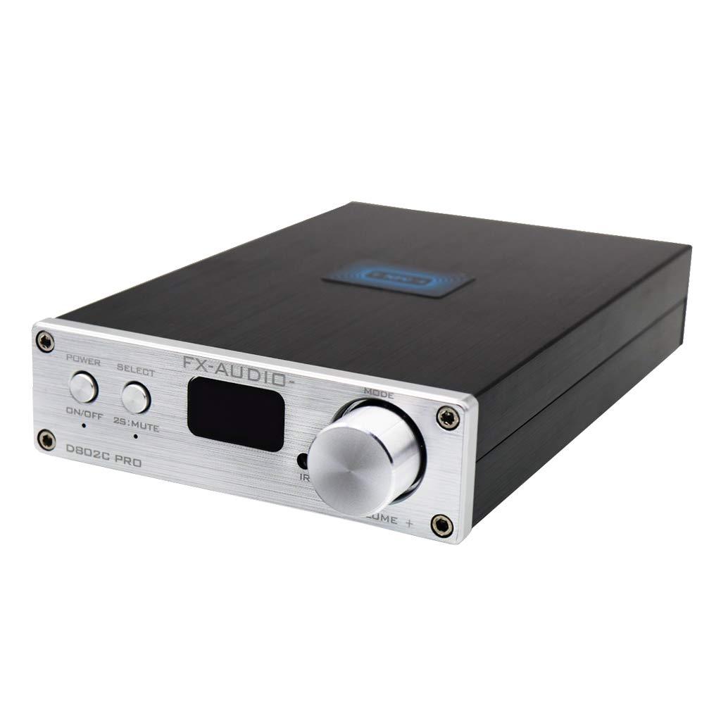 KESOTO FX-Audio D802C PRO Full Digital Amplifier BT4.2 Input USB//RCA//Optical//Coaxial Input 24Bit//192KHz 80W*2