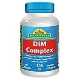 DIM Complex 100 mg 120 Capsules by Nova Nutritions