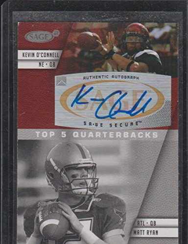 2008 Sage Kevin O'Connell Autographed Football Card #A-118 ()