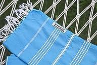 Kikoya Brand 100% Cotton, Pestemal Turkish Towel 39″x70″ Size Original – Turquoise