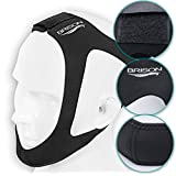 Chin Strap by BRISON - Stop Snoring Mask, Anti Snoring Aids, Stop Sleep Snoring for Mouth Breathing, Snoring Solution, Natural and Comfortable Sleep with Adjustable Strap
