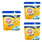 ARM & HAMMER Alpine Clean Laundry Detergent Powder, 185 loads, 11.42 lbs (3 pack)