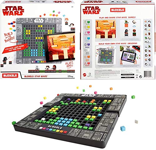 Star Wars Build Your OWN Video Game Includes: 320 Colorful Blocks, 1 GAMEBOARD: Lay Out, Design and CONFIGURE Your OWN Star Wars Story Using Iconic Characters, Watch Your Game World - Build Own Video Your Game