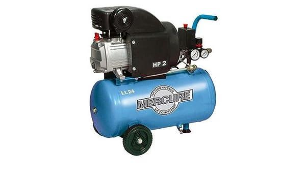 airum rc2/24 cm2 - Compresor de aire monofasico 2hp 24 litros mercur3: Amazon.es: Bricolaje y herramientas