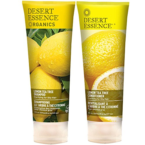 Amazon.com: Desert Essence: Organics Shampoo   Conditioner Lemon ...