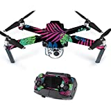 Skin For DJI Mavic – Neon Tropics | MightySkins Protective, Durable, and Unique Vinyl Decal wrap cover | Easy To Apply, Remove, and Change Styles | Made in the USA