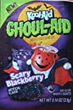 10 Packs Kool AID Ghoul AID Scary Blackberry Drink Mix